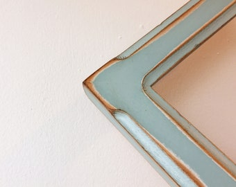 """Super Vintage Color of Your Choice in 1.5"""" Wide Bones Style - Choose your frame size - 2x2 up to 13x19 inches - Photo Frames 8x12, 8x10 etc"""
