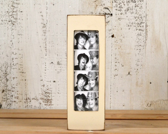 "Photo Booth Frame for 2 x 6 Picture Strip in Vintage COLOR of YOUR CHOICE - 2x6"" Photo Booth Frame - Wedding Photo Booth Frames"