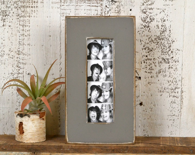 "Photo Booth Frame 2 x 6 for Picture Strip in 1.5 Standard Style in COLOR of YOUR CHOICE - 2x6"" Wedding Photo Booth Frame - Wedding Favor"