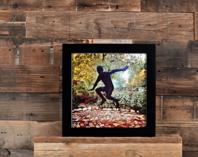 8x8 Square Picture Frame in 1x1 Flat Style with Solid Black Finish - In Stock Same Day Shipping - 8 x 8 Photo Frame Black