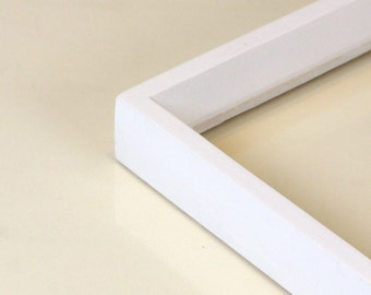 Solid Color of Your Choice in Park Slope style - Choose your frame size: 2x2 up to 18x24 inches - Modern Square Frames