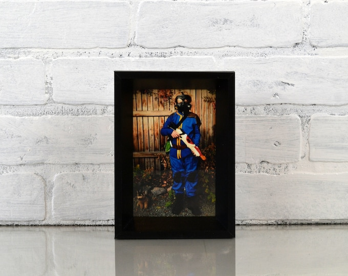 """4x6"""" Picture Frame in Park Slope Style with Solid Black Finish - IN STOCK - Same Day Shipping - 4 x 6 Frame Black"""