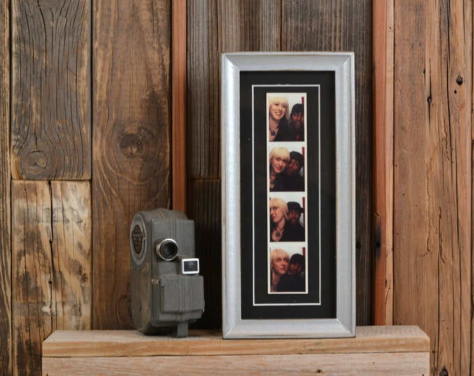 "4x10"" Picture Frame in Foxy Cove Style with Vintage Silver Finish - IN STOCK  Same Day Shipping - 4 x 10 inch Panoramic Photo Frame"