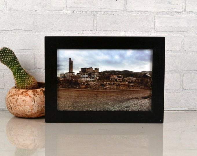 8x12 Picture Frame in 1.5 Standard Style with Solid Black Finish - IN STOCK Same Day Shipping - Handmade Classic 8 x 12 Frame
