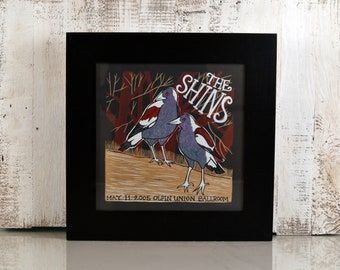 """Record LP Frame 12.5x12.5"""" in 2.5 inch Wide Style with Solid Black Finish - IN STOCK - Same Day Shipping - Album Cover Frame - Black"""