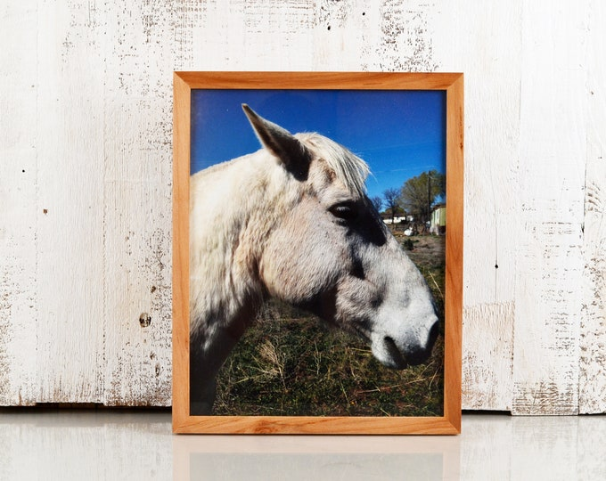 """11x14"""" Picture Frame in Peewee Style in Solid Natural Willow - IN STOCK - Same Day Shipping - Handmade 11 x 14 Solid Hardwood Willow"""