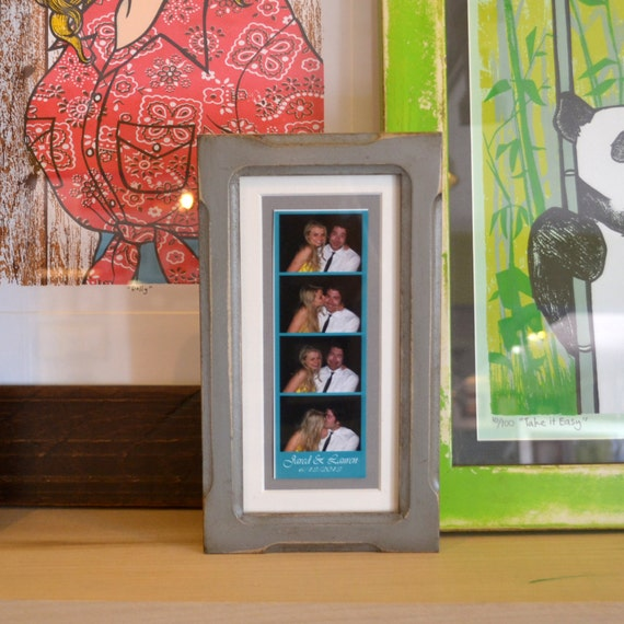 4x8 Picture Frame for 2x6 Photo Booth Strip in Shallow | Etsy