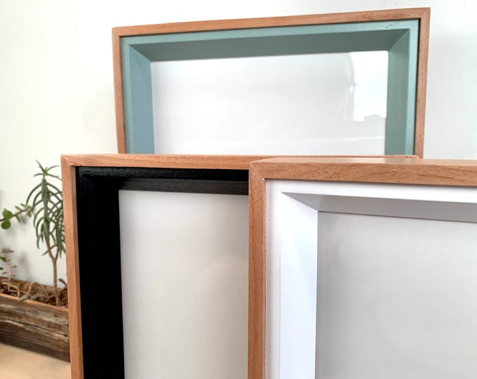 """8x10"""" Picture Frame - BEST SELLER - Park Slope Plus Style with Solid Finish Color of Your Choice - 8x10 Photo Frame - In Stock Photo Frame"""