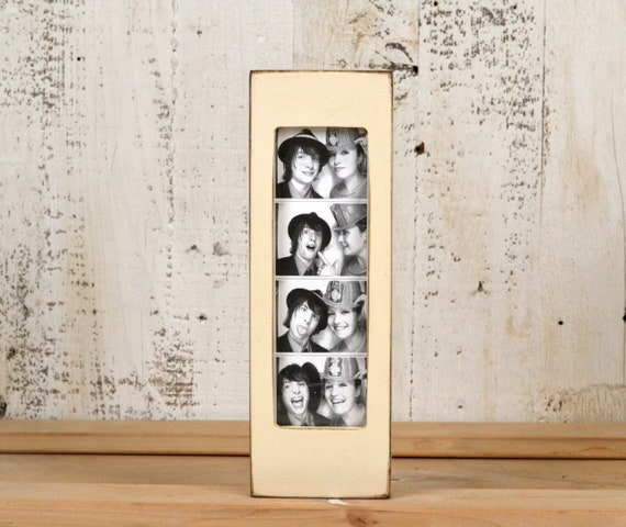 Photo Booth Frame For 2 X 6 Picture Strip In Vintage Color Of Etsy
