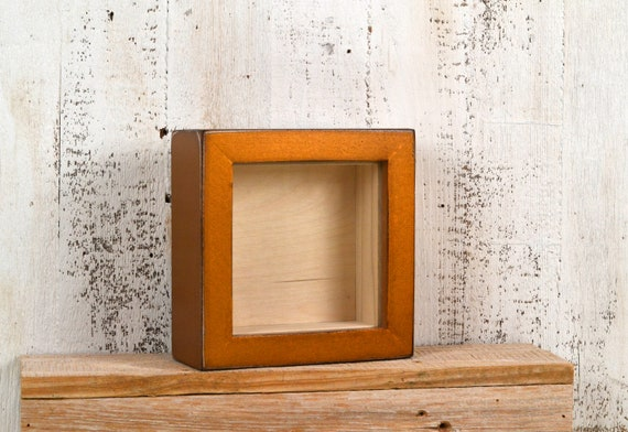 Small Shadow Box Frame Holds Up To 45 X 45 X 125 Etsy