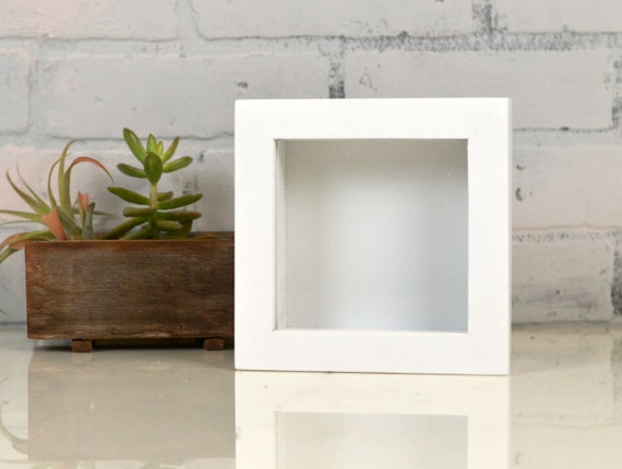 Handmade Small Square Shadow Box Frame Holds Up To 45 X 45 Etsy