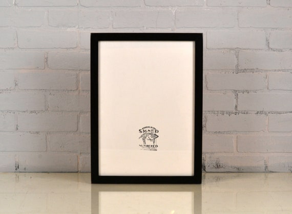 A3 Size Picture Frame in 1x1 Flat Style and Finish Color Of Your ...