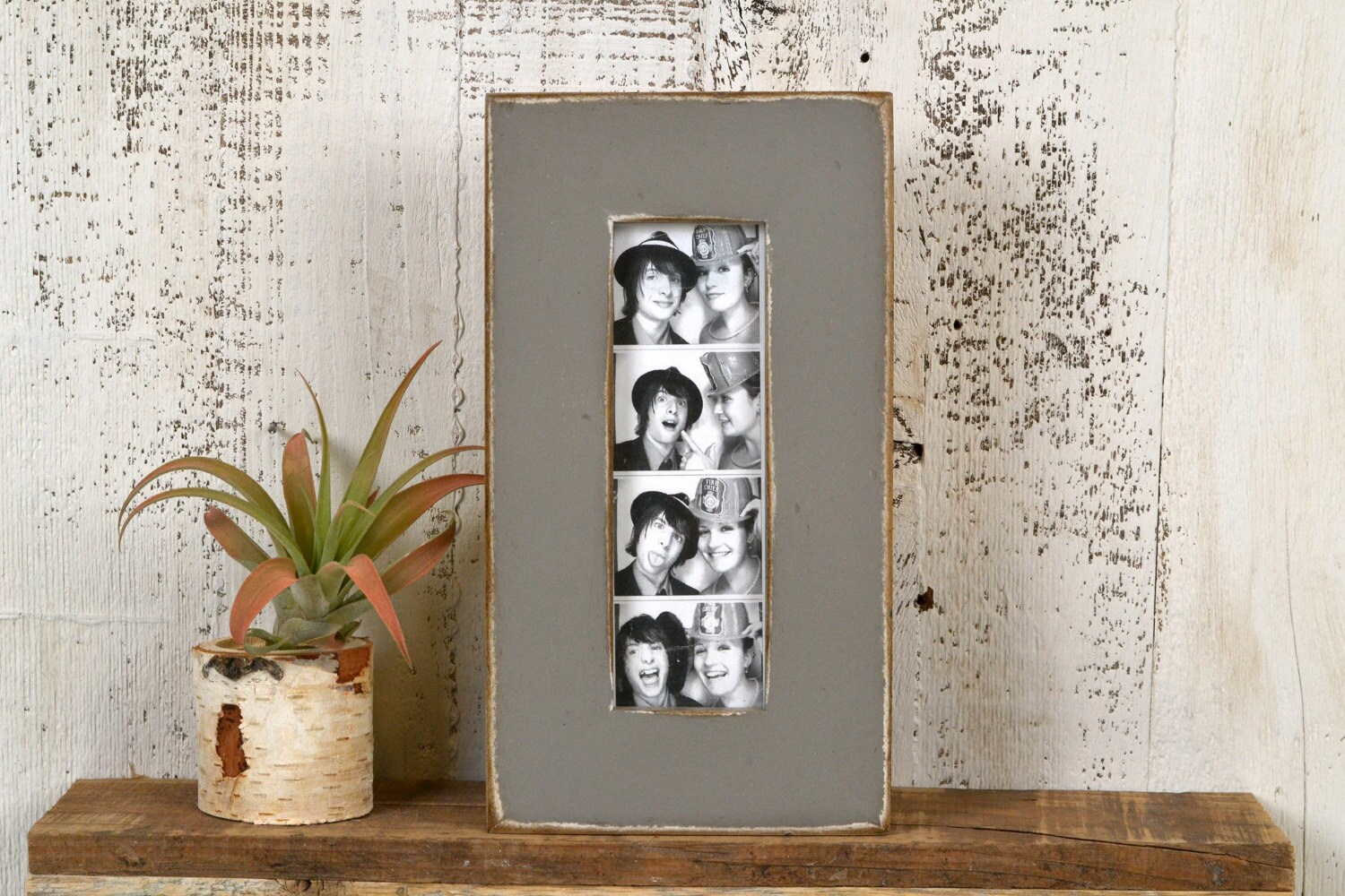 Photo Booth Frame 2 X 6 For Picture Strip In 15 Standard Style In