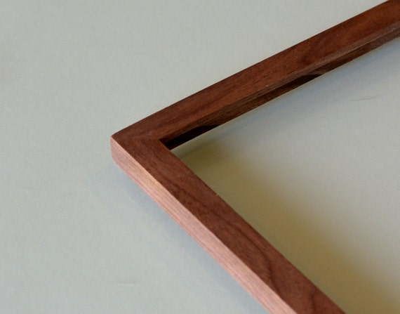BASIC Picture Frame - Natural WALNUT Solid Hardwood Gallery Wall ...