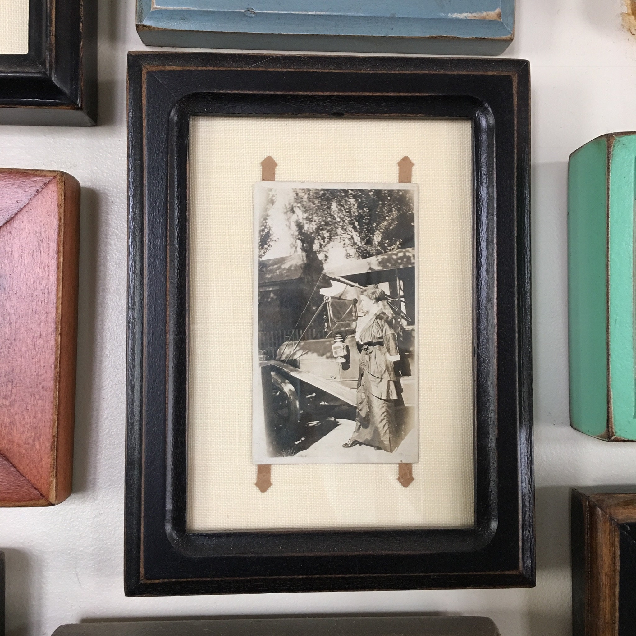 35x45 Aceo Or Wallet Size Picture Frame In Double Cove Style And