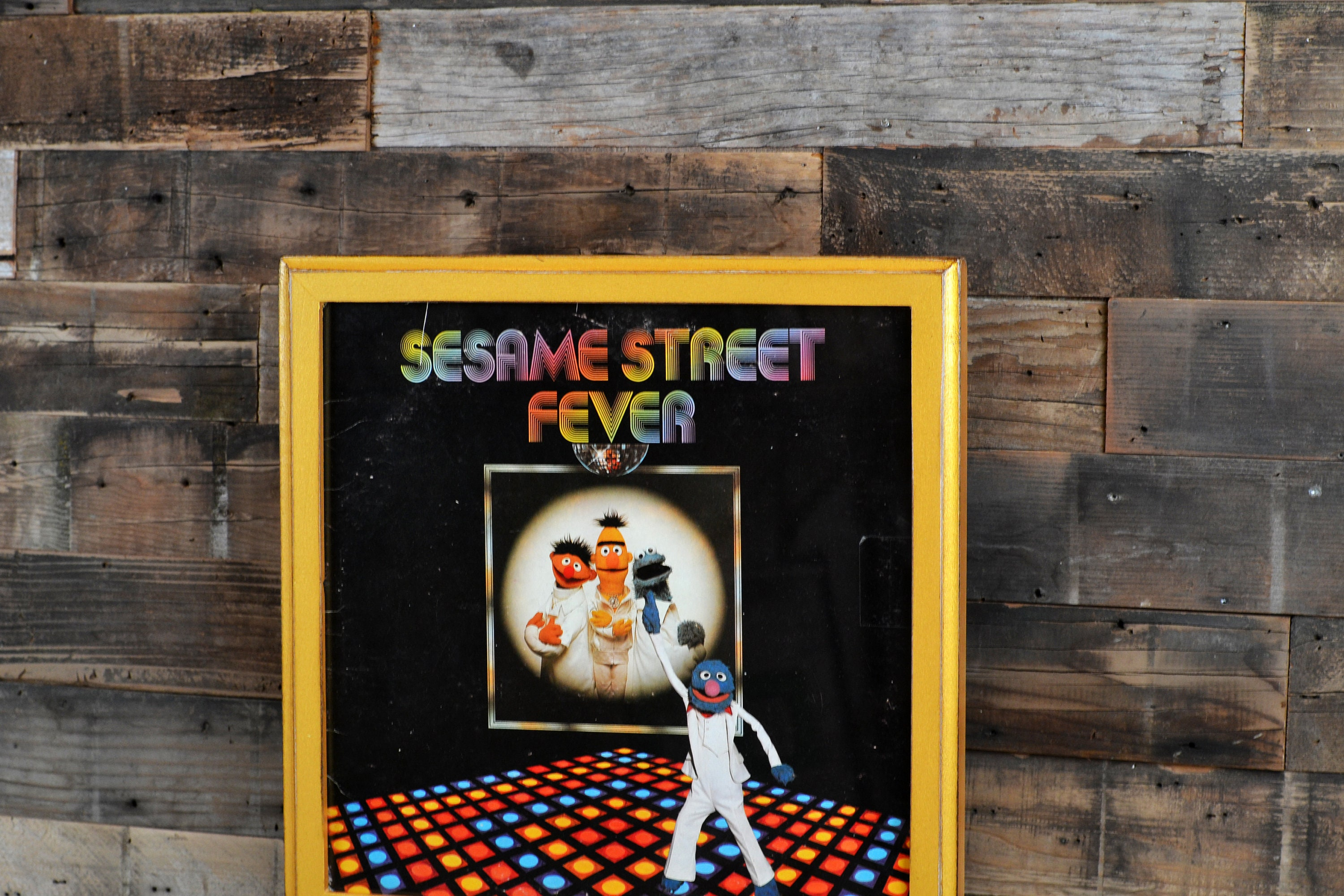 12.5x12.5 Record LP Frame in 1x1 Outside Cove Style and Color of ...