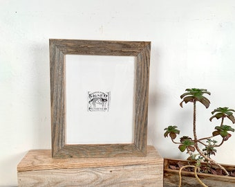 """8x10 Rustic Reclaimed Cedar Picture Frame - SHIPS TODAY - Upcycled 8 x 10 Reclaimed Wood Photo Frame -8x10"""" Frames"""