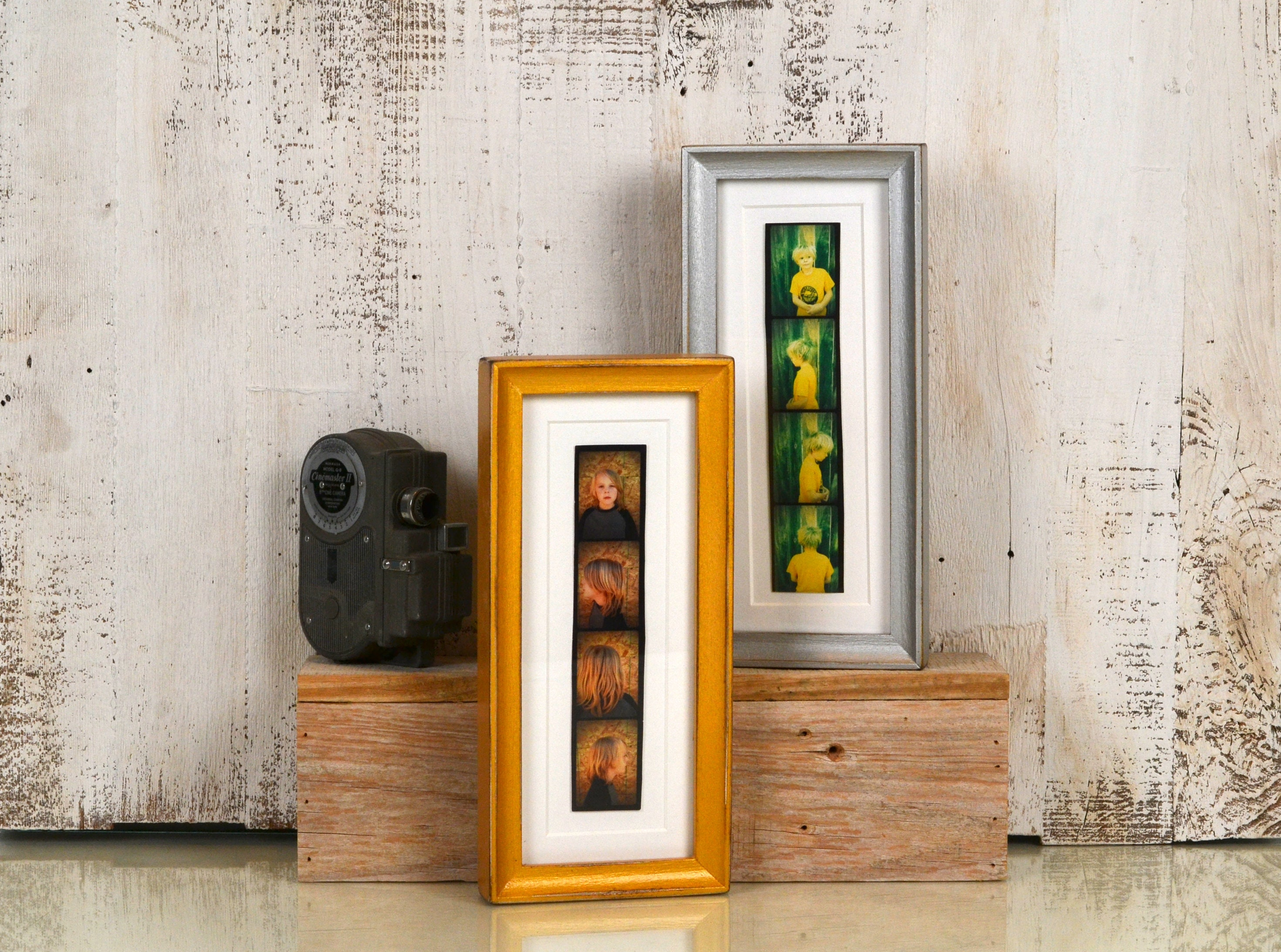 4x10 Picture Frame For Photo Booth Strip In Foxy Cove Style And