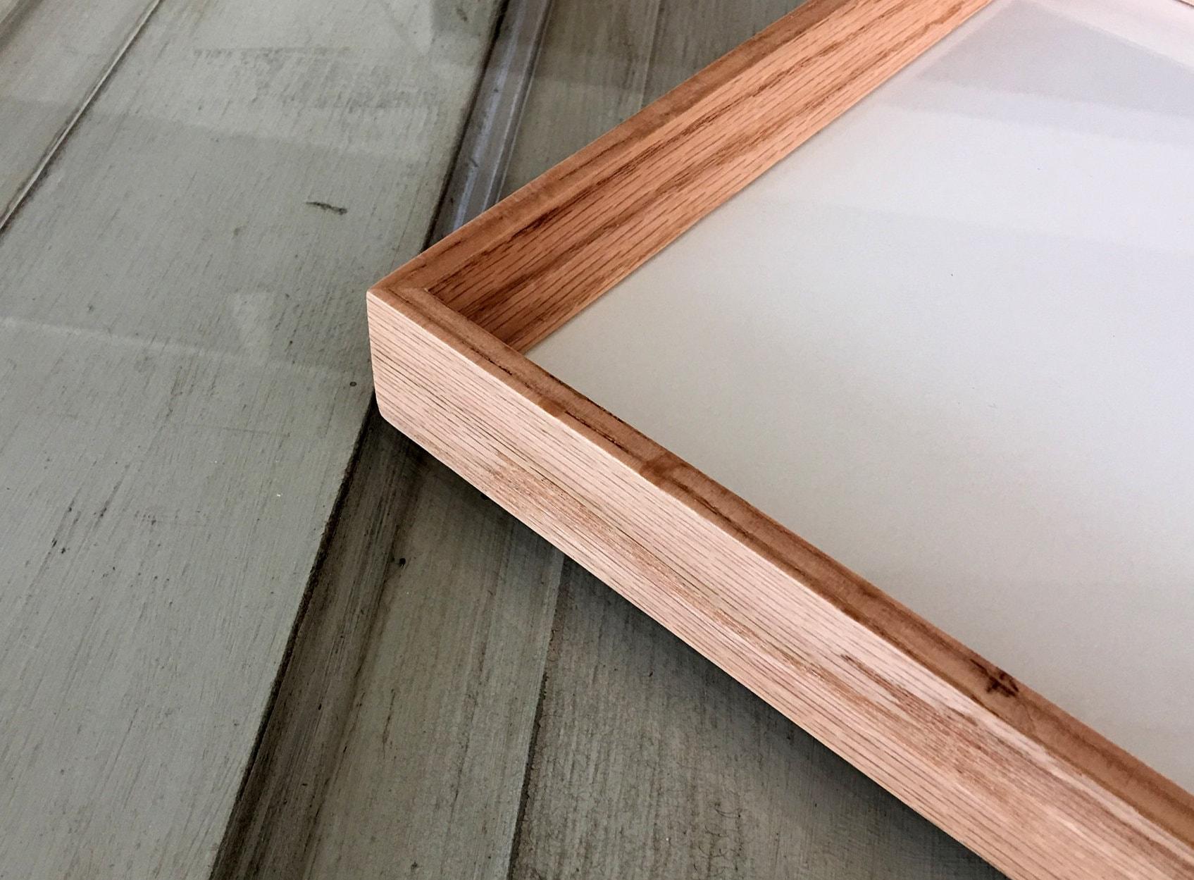 Natural Solid Oak Frame in Park Slope style - Choose your