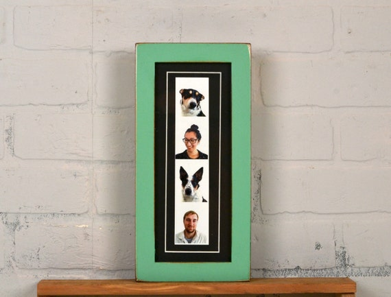 4x10 Picture Frame For Photo Booth Strip In 1x1 Flat Etsy