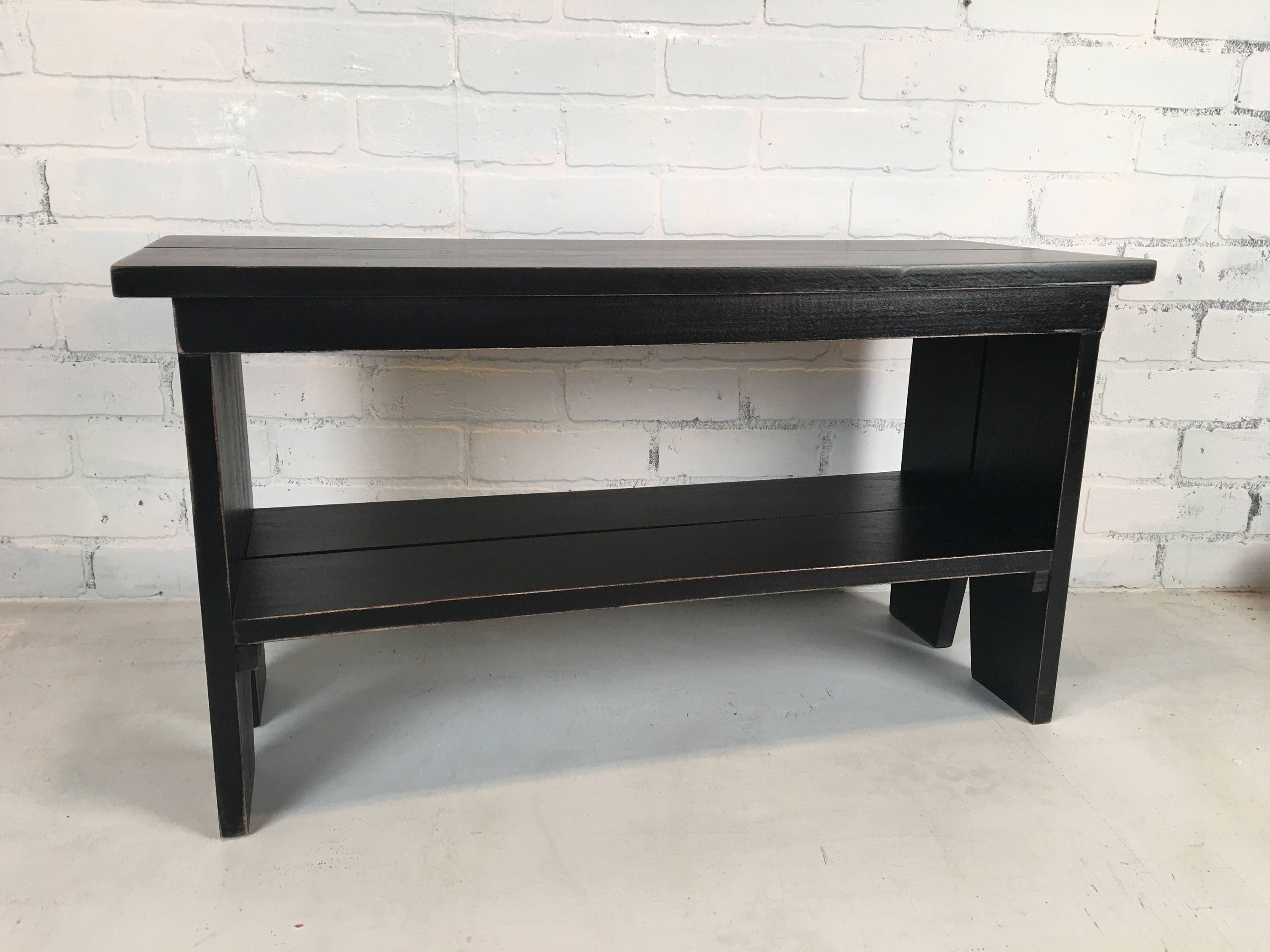 wood mid bottom dark tufted modhaus century cheap includes get deals bench gray with black button and find espresso shopping legs quotations metal on guides