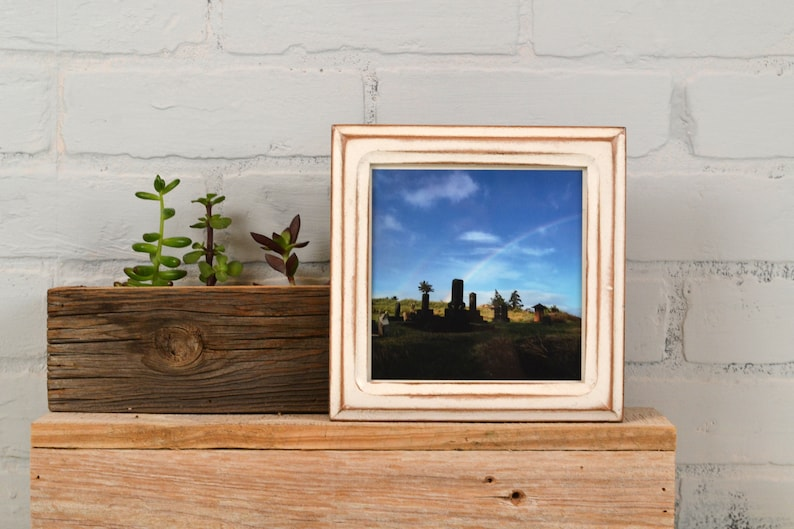 6d9c0c3a9e3d 5.5x5.5 Square Picture Frame in Double Cove Style in Finish