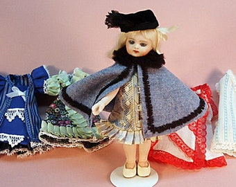 "ALL BISQUE MIGNONETTE  5.5/"" doll  10 pieces WARDROBE PATTERN"