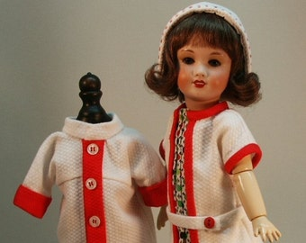 Bleuette pattern for doll clothing - CLASSIQUE 1936 and ROBE TUNIQUE 1927