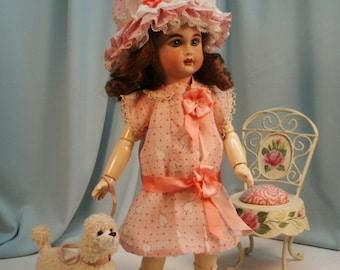 Bleuette pattern for doll clothing - ROBE D'ETE and Charlotte Cloche - La Semaine de Suzette 1911