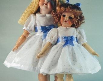Bleuette & Rosette patterns for doll clothing - GL Confetti 1959, GL Jackson set of Underclothing, GL Half petticoat Clochette