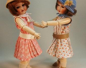 Bleuette pattern for doll clothing - Gautier Languereau YO-YO 193 - Sweet tucked dress