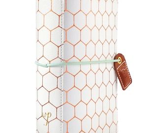 Copper Hexagon POCKET TN Color Crush Webster's Pages Travelers Planner (TN001-H)