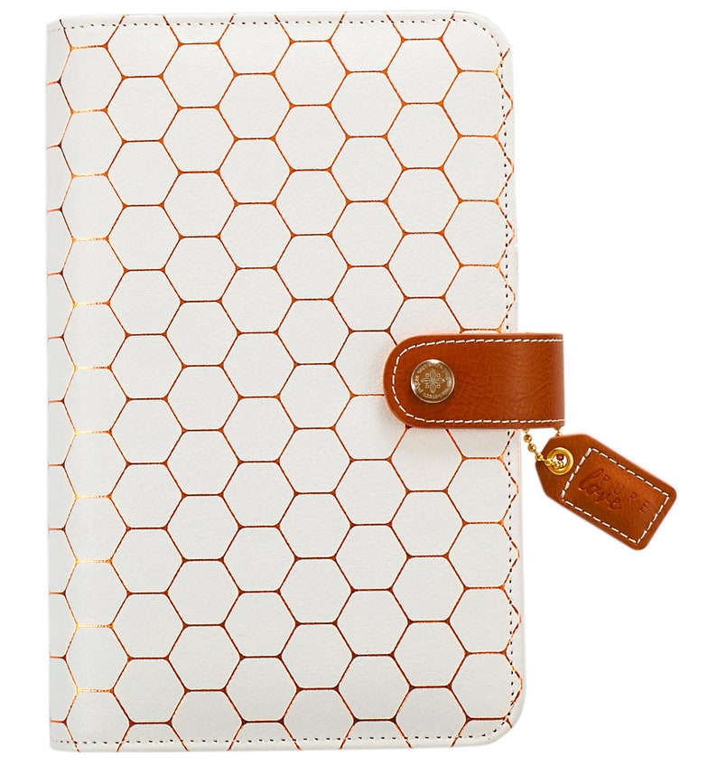 Copper Hexagon Color Crush Personal Binder Webster's Pages image 0