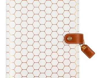 Copper Hexagon A5 Planner Kit Webster's Pages Color Crush • Free Washi Tape (A5PK001-H)
