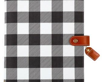 Buffalo Plaid Color Crush Composition Planner • Free Washi Tape (CP001-BP)