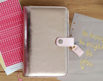 Platinum Rose Webster's Pages Color Crush PERSONAL Planner Kit • Free Washi Tape with this order
