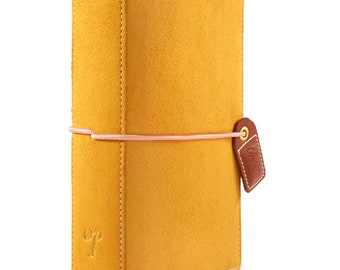 Mustard Suede POCKET Size TN Color Crush Webster's Pages Travelers Planner (TN001-MS)