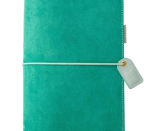 Aspen Green Suede STANDARD TN Color Crush Webster's Pages Travelers Planner • Free Washi Tape with this order (TJ001-GSU)