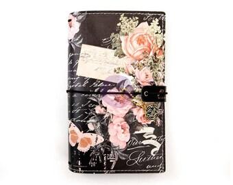 Vintage Floral Prima Traveler's Journal PERSONAL Size TN PTJ (599690)