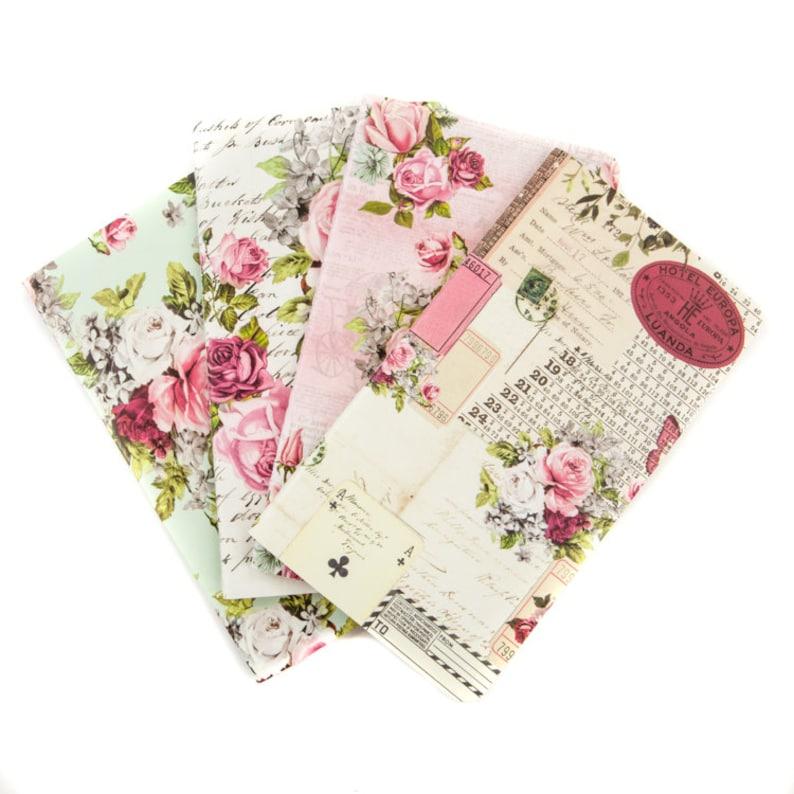 Misty Rose Personal Refill Notebook 4/Pkg Prima Traveler's image 0