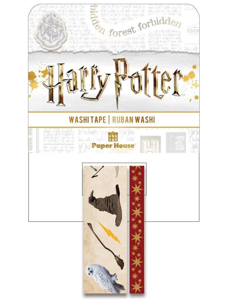Harry Potter Icons Washi Tape Set STWA-0052E image 0