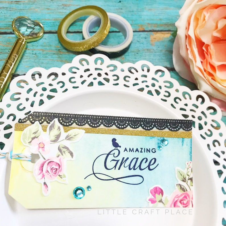 Amazing Grace Pre-Inked Stamp P629 image 0