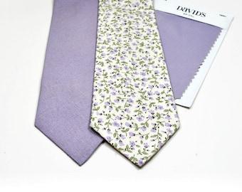 Lavender Neckties Iris Neckties Lavender Linen Neckties Lilac Ties Iris Linen Ties Lavender Wedding Ties Lilac Linen Neckties Wedding Ties