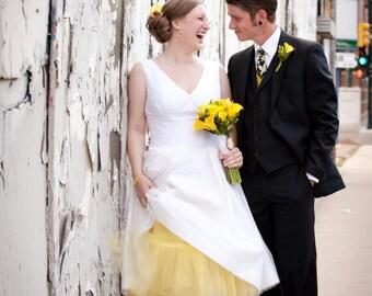 Wedding Neckties Yellow and Black Neckties Yellow Necktie Mens Necktie Custom Neckties
