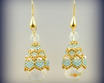 Globo earrings tutorial , perfect for tassels also