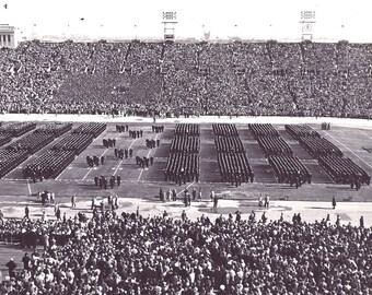 1960 ARMY v NAVY College Football Game - Philadelphia Veteran s Stadium.  Original Vintage Photo 1960 78ea7f120