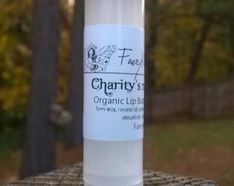 Charity's Raspberry Ice - Organic lip balm