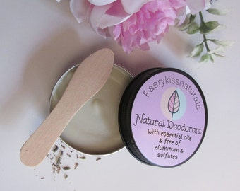 French Clay Natural Deodorant