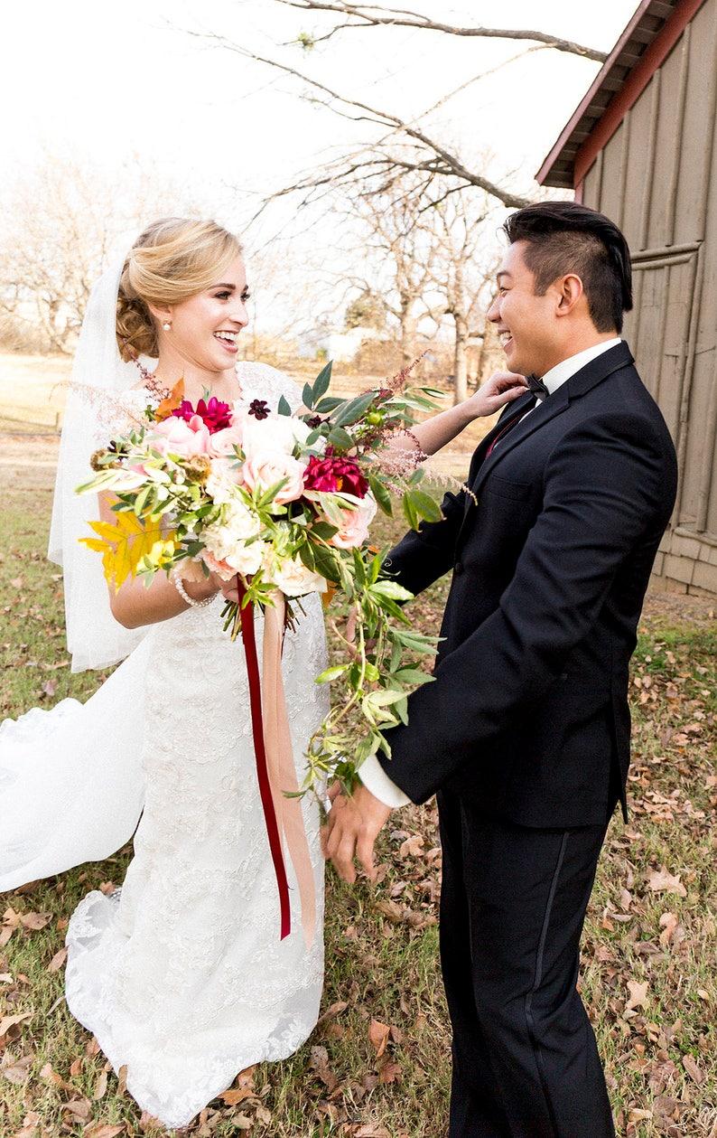 Katie Middleton Veil Drop Veil Soft Veil Bridal Veil Circle Veil Ivory Veil Wedding Veil English Net Veil Veil with Blusher