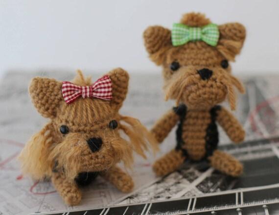 Receita Amigurumi Cachorro - Yorkshire de Crochê TOP 10 ...   439x570